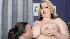Guess what i'm a bbw porn star!. Guess What I'm A BBW Porn Star! Porsche Dali waits for Tarzan to drop by. When he shows, he's got an XL Girls magazine in an envelope. He's spotted a picture of Porsche 42GG Dali and now he's curious about the girl he's sitting next to on the couch. So it turns out that Porsche is a BBW porn star with seven XL Girls DVDs and numerous magazines to her credit. Now Tarzan wants to know all about it and wonders if he could appear in porn too. Porsche is happy to show him how it's done right then and there!  XL Girls: Porsche, you've been a feature at XL Girls since 2010. How did you first find out about us   Porsche: I'd seen your magazines before. I'd been a fan for a while.   XL Girls: You're a model but do you like to watch porn in your free time   Porsche: Yes, I do. I like all different kinds of porn, not only BBW porn. Lots of boy-girl, lots of girl-girl. Anything with Briana Banks in it.   XL Girls: Are you into girls, personally   Porsche: I'm bi. But I haven't been in relationships with girls. I've just fooled around. I like big-breasted blondes. I guess my first girl experience at college was sweet kinky. I had toys so we were just going at it with each other like crazy! See More of Porsche Dali at PORNMEGALOAD.COM!