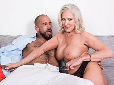Katia's happy return has a happy ending. Katia's happy return has a happy ending In her first XXX video scene in seven years, Classy Katia, who's 63 now (she was a 50Plus MILF the first time we saw her in 2011), takes on the penish that started it all for her in 2009. It's Carlos' penish, and Katia obviously loves it. Or maybe it's just obvious that she missed fuck on-camera and was eager to get back to it. Which she was.  Katia is from Alabama. She's a mother, grandmother and divorcee. She says the people who know her would be shocked to see her here, Hey, we were shocked to see her come back after such a long absence. But her return is a big way to finish off the year.  Katia was born on August 3. Her measurements are 34C-25-36. She has blue eyes, and her hobbies including walking and riding horses. She has a foot fetish. Back in 2009, she told us that her sexual fantasy is being with four guys at one time. Well, seven years later, she still hasn't fulfilled that fantasy (which, frankly, shocks us because she'd have no time rounding up four eager guys to fuck her).  We also asked her how often she has sex, and she said, About three times a month.  Part of the reason for that is she's not a swinger. Another reason: She's been busy working and taking care of her family. Otherwise, we might have seen her here sooner.  Anyway, enjoy Katia's happy return and know that there's lots more of her to come. Hey, you didn't think we were going to just shoot one scene after we hadn't seen her for so long, did you See More of Katia at 60PLUSMILFS.COM!