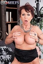 Bthe 60-year-old super-hottie's first time/b. The 60-year-old super-hottie's first time I saw your ad on Backpage.com, Gina Milano, a 60-year-old divorcee who's make love on-camera for the first time, told us when we asked her how she found us. It was spur of the moment. I told myself, 'Why not Why not try something different, something new, something I had been curious about for a while If not now, then when' It was a no-brainer.  When we saw Gina's test shots, our decision to photograph her was a no-brainer. She's beautiful. There's something hyper-sexual about her. She has a considerable anatomy with long legs and DDD-cup tits. And she was turning 60, which made her even better.  Gina was born in Milan, Italy and now lives in San Diego, California, where she does some webcam modeling. She isn't a swinger, but she's done some swinger things.  I've done a few orgies, she said. One time, there were like 20 to 30 people in a room. We were all make love, and this guy next to me started to finger my cunt and get me off. I came so massive and loud that when all of the other couples in the room heard me, they all started cumming. I'll never forget that, that's for sure!  Gina will never forget this scene, in which she's a rich lady who seduces and have intercourses her driver. He cums in her eager mouth.  Gina calls herself a beach bunny. She loves tennis, hockey and fast cars. Her hobbies include listening to music, dancing and working out. She likes guys with a wild side who know how to get me off and then have intercourse me for hours. A gentleman but an animal in the bedroom.  She likes younger men. The guy she's with in in this scene is 30. That's half her age.  My ex was 10 years younger than me, Gina said. I always have liked them younger. Don't ask me why, but they go after me. Even now, guys in their mid-20s or 30s would like to have intercourse me. I could be their mom easily.  We know exactly why the younger guys go for Gina. You will, too, when you see her.  See More of Gina Milano at 60PLUSMILFS.COM!