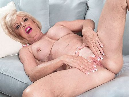 The 60Plus MILF and her big toy