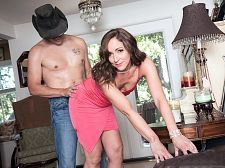 Once in a blue moon, Natalie gets ass-fucked