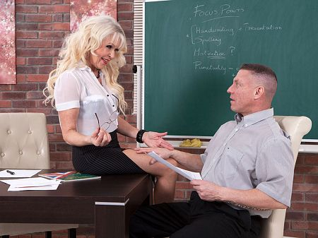 Hot for teacher
