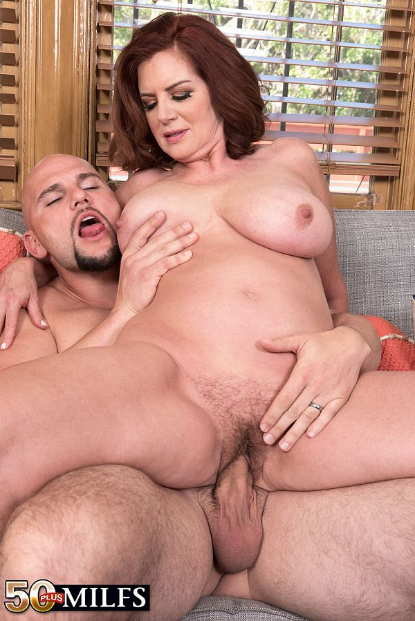 Horny wife enjoys two hot guys 8