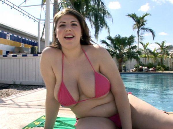 Well-rounded Bikini Girl