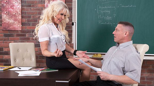 Lady S Hot for teacher