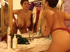 Katie In The Un-dressing Room
