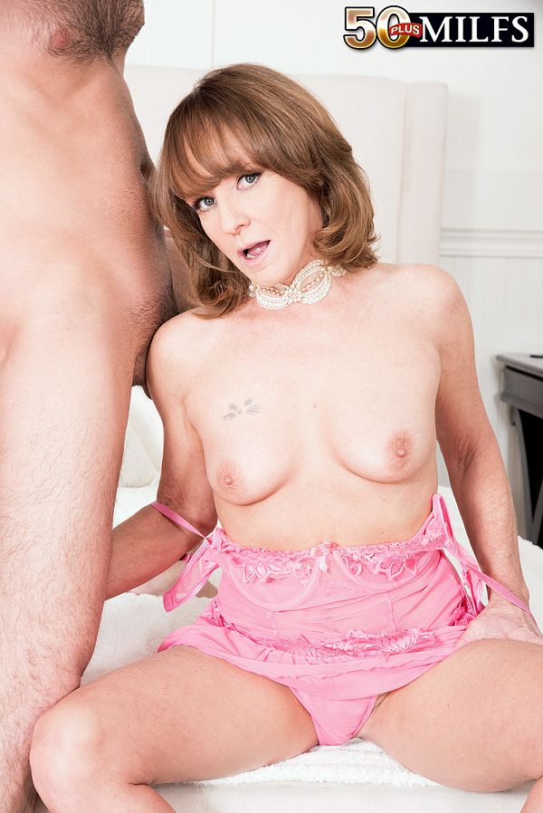 For starters, Cyndi fucks the delivery boy
