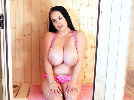 The Girl Who Busted Her Yellow Polka Dot Bikini