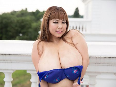 Short 'n' Stacked Japanese Idol Has Gigantic Tits