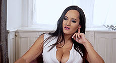 Amy Berton - Interview Big Tits video screencap #2