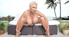 Claudia Marie - Solo Big Tits video screencap #1