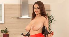 Sandra Milka - Solo Big Tits video screencap #2