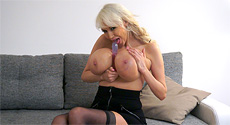 Sandra Star - Solo Big Tits video screencap #3