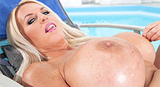 Shannon Blue - Solo Big Tits video screencap #1