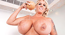 Shannon Blue - Solo Big Tits video screencap #2