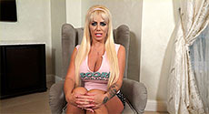 Tia Clegg - Interview Big Tits video screencap #2