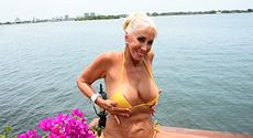 Marie Leone - Solo Big Tits video screencap #3