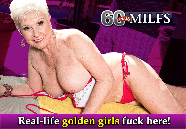 60 years old granny lost bet and gets banged 4