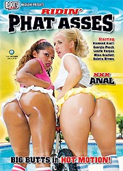 RIDIN' PHAT ASSES DVD cover image