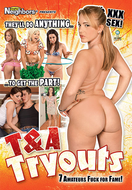 T&A TRYOUTS DVD cover image
