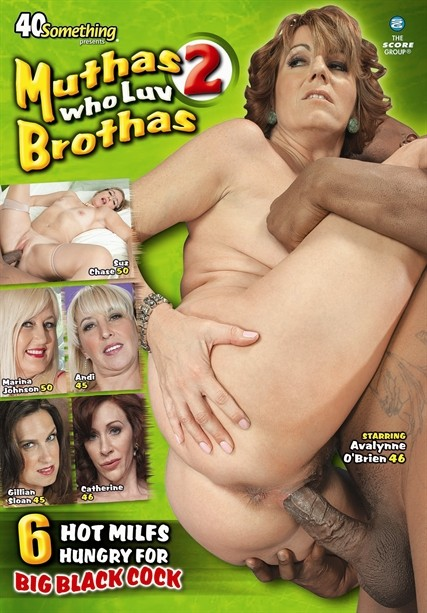 MUTHAS WHO LUV BROTHAS 2 DVD cover image