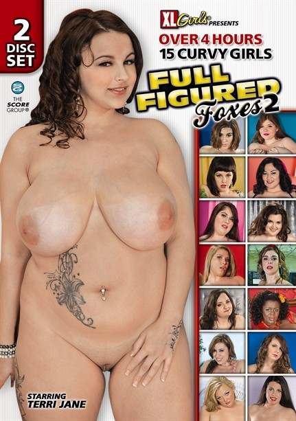 FULL FIGURED FOXES 2 DVD cover image