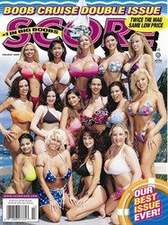 SCORE HOLIDAY 2000 BOOB CRUISE DOUBLE ISSUE
