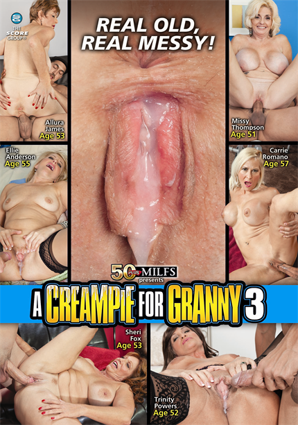 A CREAMPIE FOR GRANNY 3 DVD cover image