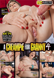 A CREAMPIE FOR GRANNY 4 DVD preview image #1