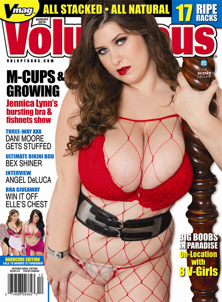 VOLUPTUOUS AUGUST 2014 Magazine cover image