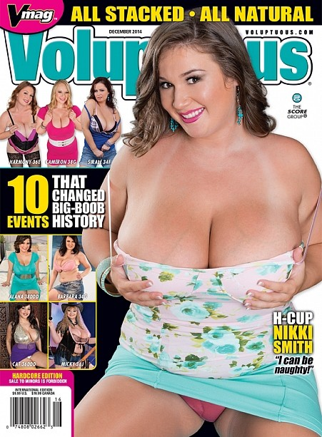 VOLUPTUOUS DECEMBER 2014 Magazine cover image