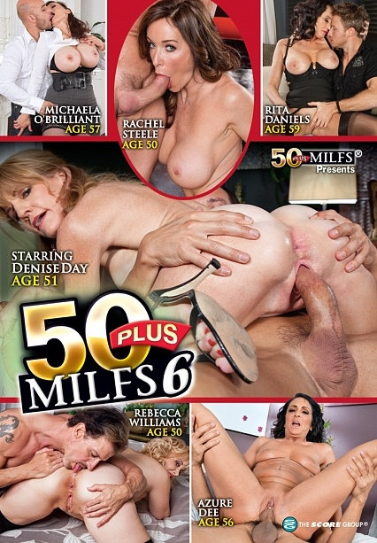 50PLUS MILFS 6 DVD cover image