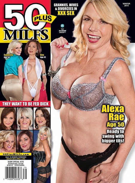 50PLUS MILFS SP279 Magazine cover image