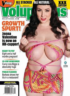 VOLUPTUOUS MARCH 2015