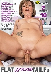 FLAT & FUCKED MILFS DVD preview image #1