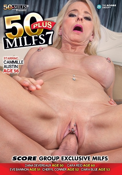 50PLUS MILFS 7 DVD cover image