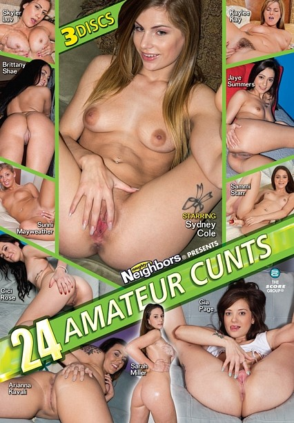 24 Amateur Cunts Disc 2 Movie Cover
