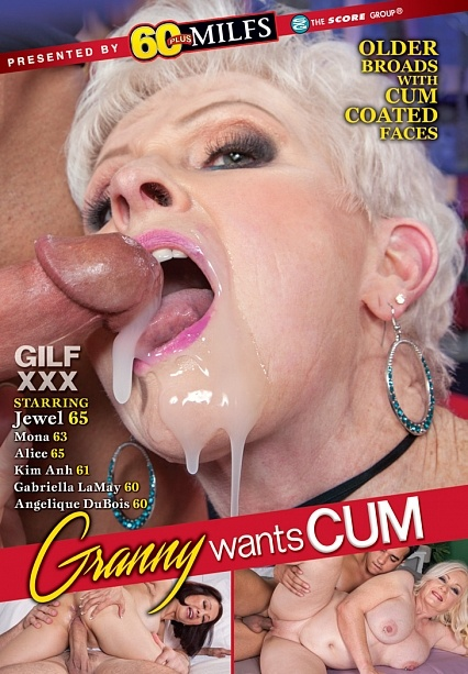 GRANNY WANTS CUM DVD cover image