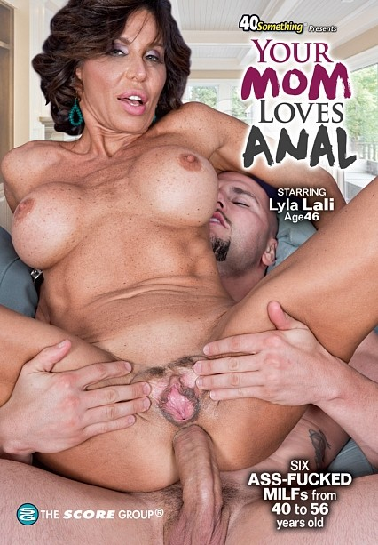 YOUR MOM LOVES ANAL DVD cover image