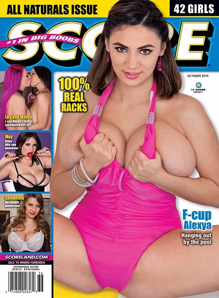 SCORE OCTOBER 2016 Magazine cover image