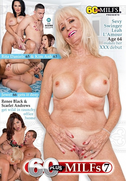 60PLUS MILFS 7 DVD cover image