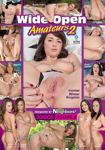 WIDE-OPEN AMATEURS 2 (3-DISC) DVD cover image