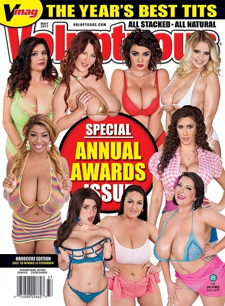 VOLUPTUOUS MAY 2017 Magazine cover image