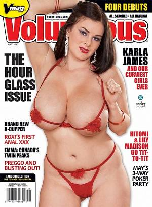 VOLUPTUOUS JULY 2017