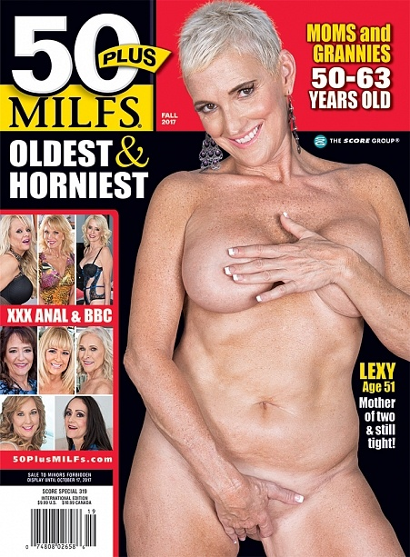 50PLUS MILFS FALL 2017 Magazine cover image