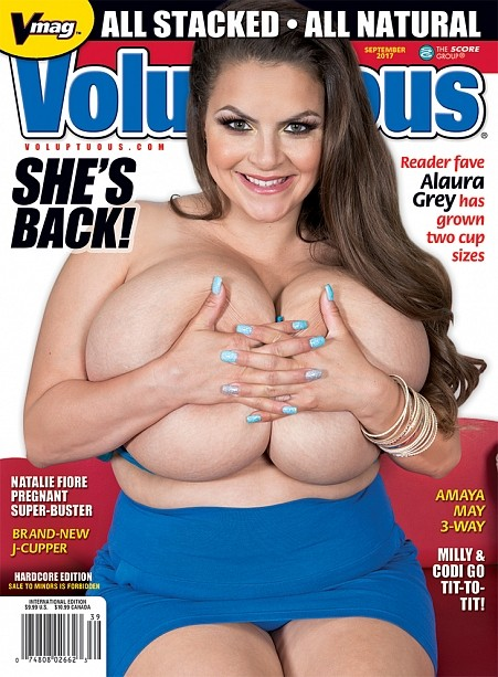 VOLUPTUOUS SEPTEMBER 2017 Magazine cover image