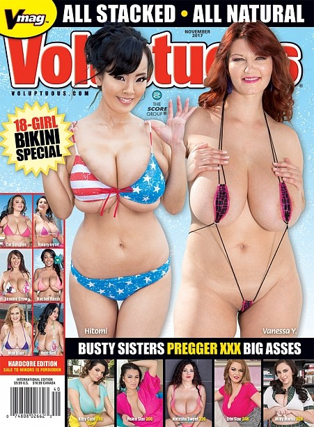 VOLUPTUOUS NOVEMBER 2017 Magazine cover image