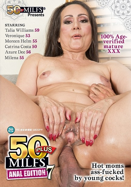 50PLUS MILFS ANAL EDITION 7 DVD cover image
