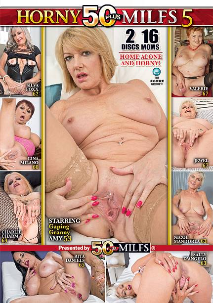 HORNY 50PLUS MILFS 5 (2-DISC) DVD cover image
