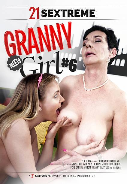 GRANNY MEETS GIRL 6 DVD cover image